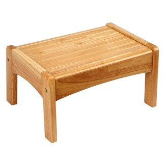 Levels of Discovery Oak Slatted Step Stool
