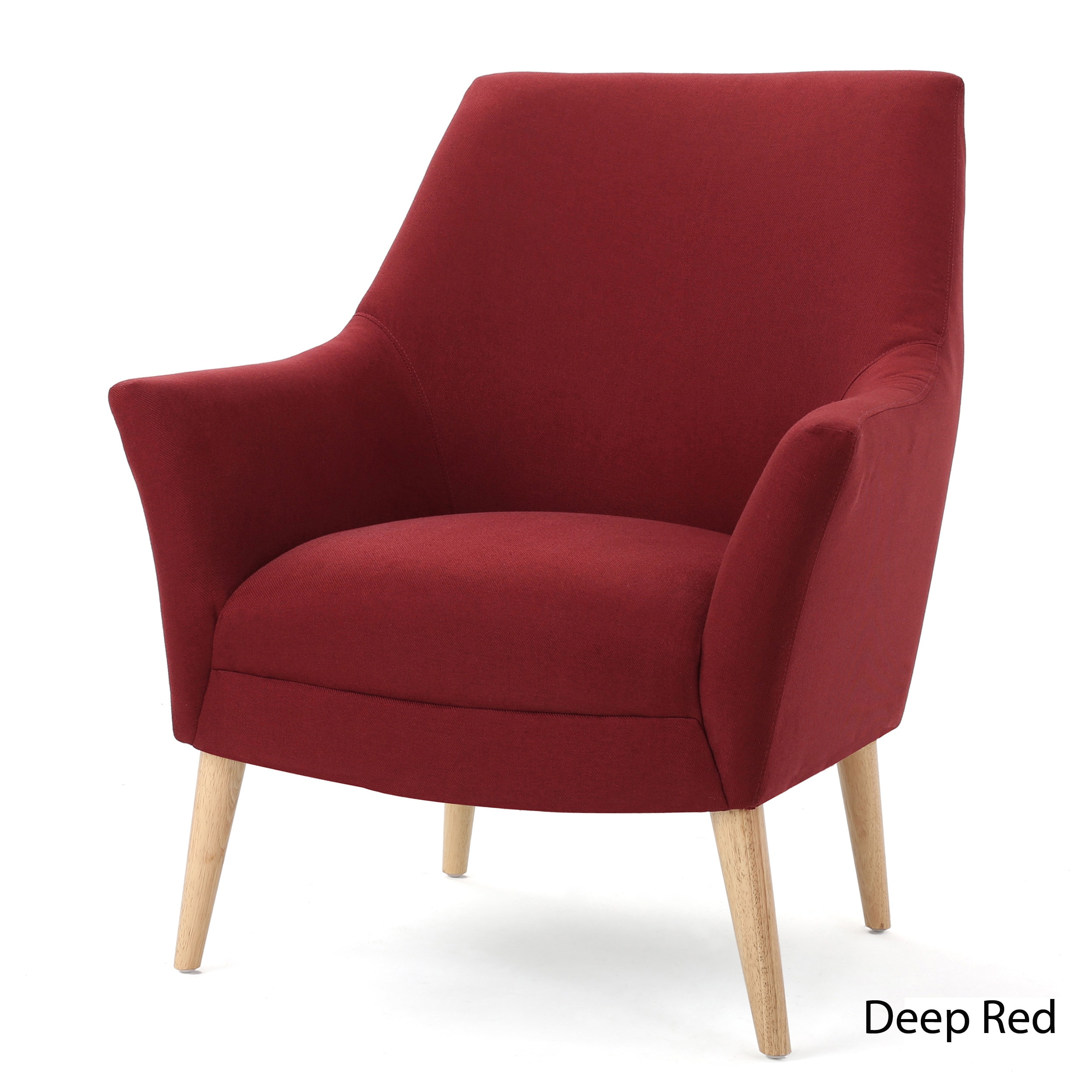 Mae Mid Century Fabric Club Chair By Christopher