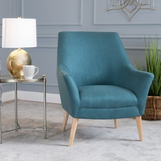 Mae Mid-Century Fabric Club Chair by Christopher Knight Home