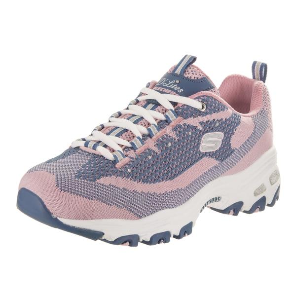 Shop Women's Skechers D'Lites Reinvention Sneaker PinkNavy