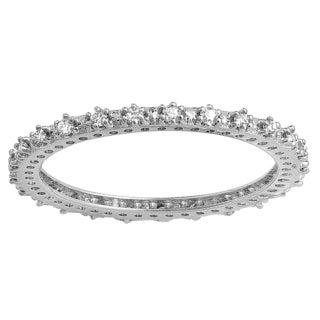10k White Gold 1/3ct TDW Round Diamond Wedding Ring (H-I, I1-I2)