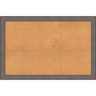 Framed Cork Board, Choose Your Custom Size, Country Barnwood Wood|https://ak1.ostkcdn.com/images/products/14158033/P20759058.jpg?impolicy=medium