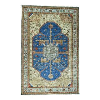 1800getarug Antiqued Bakshaish Natural Dyes 300 Kpsi Wide Runner Rug (9'9x19'6)