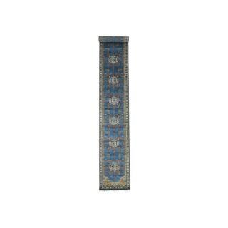 XL Runner Antiqued Bakshaish Natural Dyes 300 Kpsi Rug (2'7x18'6)