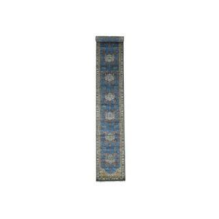 1800getarug Antiqued Bakshaish Natural Dyes 300 Kpsi XL Runner Rug (2'7x18'7)