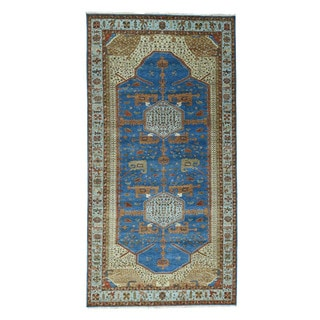 1800getarug Antiqued Bakshaish Natural Dyes 300 Kpsi Oriental Gallery Size Rug (6'0x16'0)