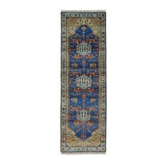 1800getarug Natural Dyes Antiqued Bakshaish 300 Kpsi Oriental Runner Rug (2'6x10'1)