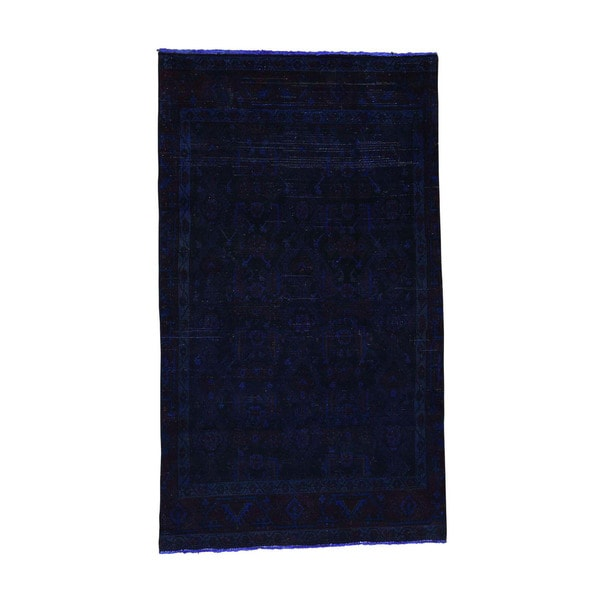 Shop Shahbanu Rugs Hand Knotted Pure Wool Overdyed Tabriz