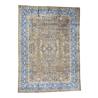 1800getarug Hand-Knotted Antique Persian Sarouk Exc Cond Oriental Rug (9'9x13'3)