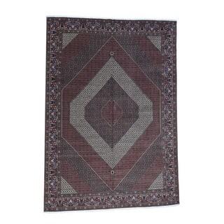1800getarug Handmade Oversize Persian Bidjar 400 Kpsi Wool And Silk Rug (11'5x15'10)