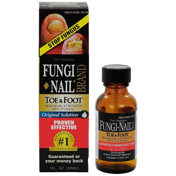 Shop Fungi Nail Antifungal Solution - Free Shipping On Orders Over ...