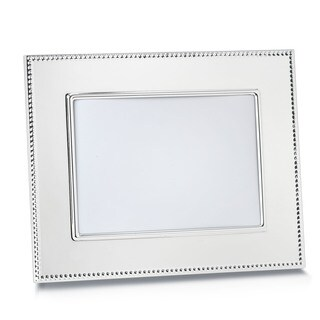 Reed Barton Lyndon Silver Metal and Glass 5x7-inch Frame
