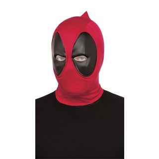 Deadpool Deluxe Adult Fabric Overhead Mask