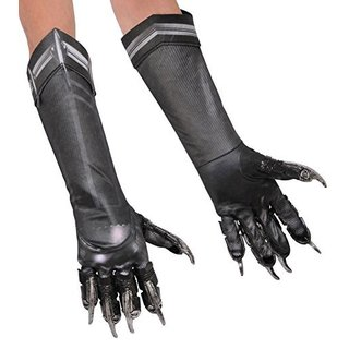 Black Panther Adult Deluxe Gloves