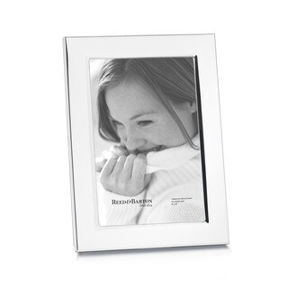 Reed & Barton Classic Silver Glass/ Metal 4 x 6 Frame