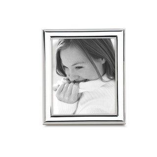 Reed Barton Newton Silver Metal and Glass 8x10 Frame