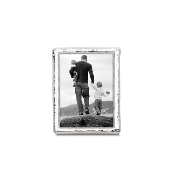 c9309f81fd6 Reed   Barton Bennett Silver-plated Metal and Glass 5-inch x 7-inch ...