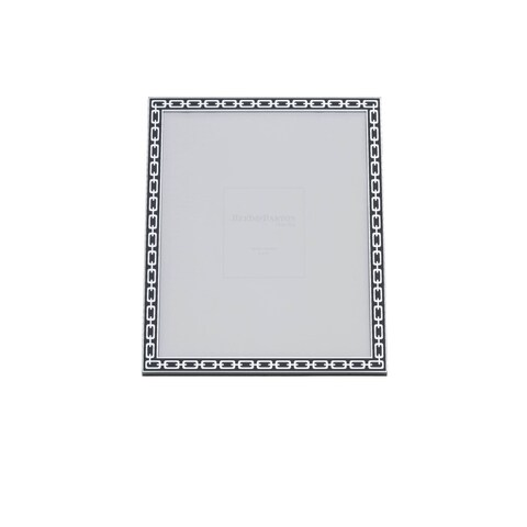 Reed Barton Silver Link Midnight 8x10 Frame