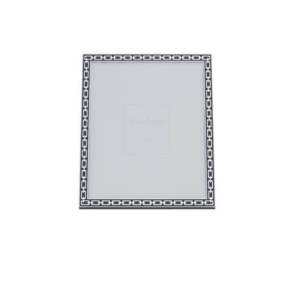 Reed & Barton Silver Link Midnight 8x10 Frame - Free Shipping Today ...