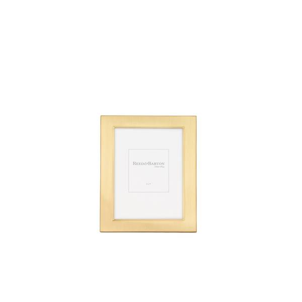 Shop Reed Barton Classic Goldplated Metal 5x7 Inch Picture Frame