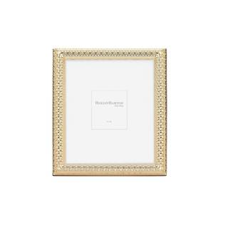 Reed & Barton Watchband Goldtone Metal 8x10-inch Frame