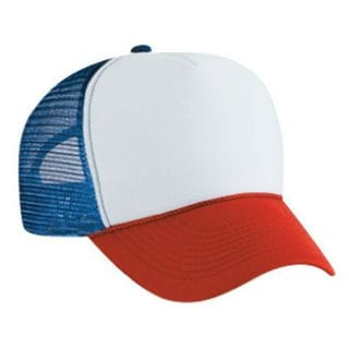 Red White and Blue Trucker Cap