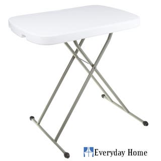 Everyday 26 X 18 28 Inch Home Personal Table