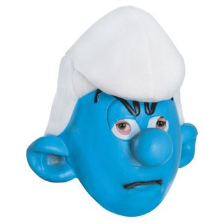 Grouchy Smurfs Mask