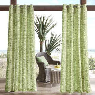 Madison Park Morro Printed Fret 3M Scotchgard Water Repellent and Stain Resistant Outdoor Grommet Top Curtain Panel|https://ak1.ostkcdn.com/images/products/14159434/P20760540.jpg?impolicy=medium