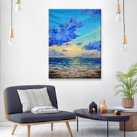 Sarah LaPierre 'Florida Mountains II' Ready2HangArt Canvas