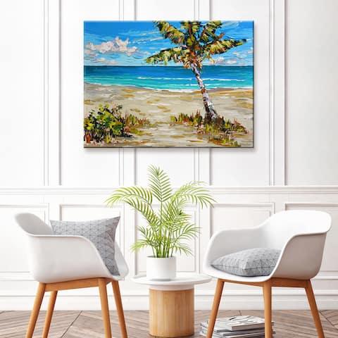 Porch & Den Island Time' Coastal Canvas Art