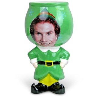 Elf Buddy Molded Goblet