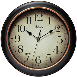 Link to Copper Grove Kaffir 12-inch Classic Kitchen Round Clock Similar Items in Decorative Accessories