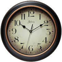 Copper Grove Kaffir 12-inch Classic Kitchen Round Clock