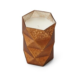 Mikasa Gold 6-inch Filled Glass LED Candle