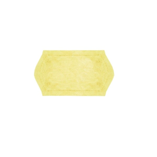 Waterford Yellow 21 x 34-inch Bath Rug