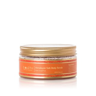 Bodhi Cosmetics Invigorating 8.5-ounce Himalayan Salt Scrub Infused with Pink Grapefruit
