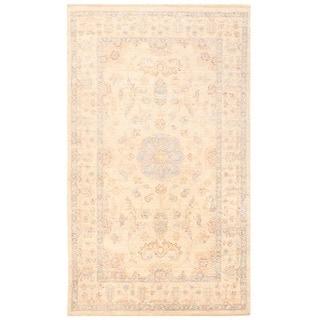 Herat Oriental Afghan Hand-knotted Vegetable Dye Tabriz Wool Rug (2'9 x 4'8)