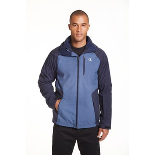 Champion Men's Sweater Fleece 3-in-1 Systems Jacket X-Large Size in Concrete (As Is Item)