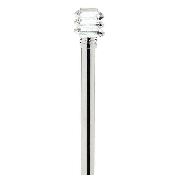 Bath Bliss Crystal Palace Tension Shower Rod