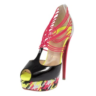 Christian Louboutin Confusalta 150 T-strap Pumps