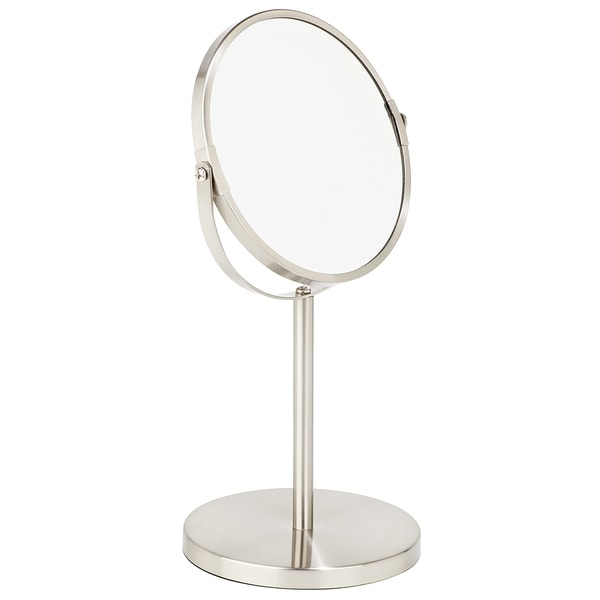 Bath Bliss 7-inch Dual-sided 5x Magnification Vanity Mirror