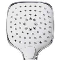 Bath Bliss Atlas 3 Function Rain Shower Head and Cord Set