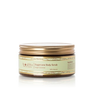 Bodhi Herbal Spa Cosmetics Luxury Coconut Sugar Cane 8.5-ounce Body Scrub