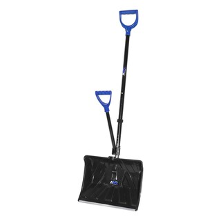 Aavix Metal 18-inch Snow Shovel Ice Breaker with Two Ergonomic Handles
