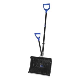 Aavix Metal 18-inch Snow Shovel Ice Breaker with Two Ergonomic Handles