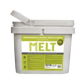 MELT 25 Lb. Bucket Premium Environmentally-Friendly Blend Ice Melter w/ CMA