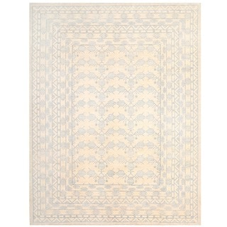 Herat Oriental Afghan Hand-knotted Vegetable Dye Khotan Wool Rug (13' x 17')