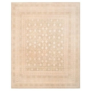 Herat Oriental Afghan Hand-knotted Vegetable Dye Khotan Wool Rug (11'11 x 15'2)