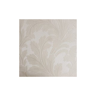 Siena White Scroll Texture Wallpaper